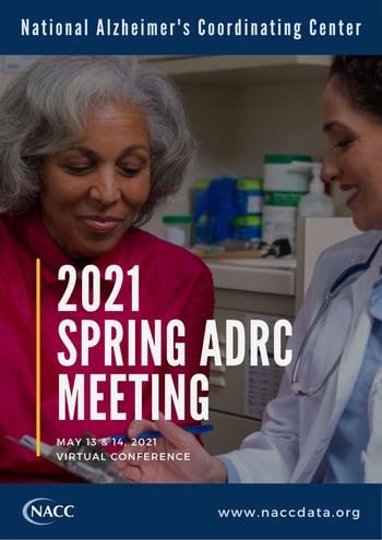 2021 Spring ADRC Meeting - Preliminary Agendas-1